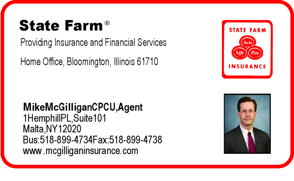 Mike McGilligan CPCU, Agent for State Farm - Malta