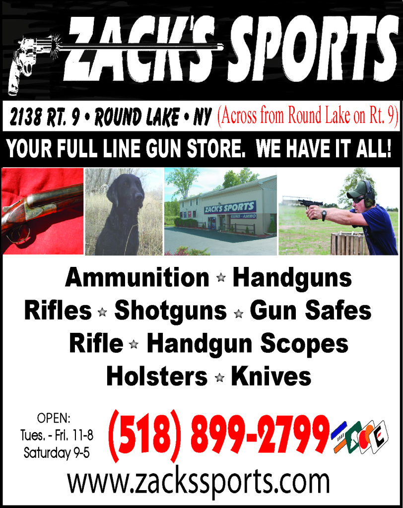 Zack Sports - Guns and Ammo - Malta NY